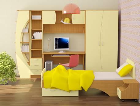 Детская корпусная мебель в