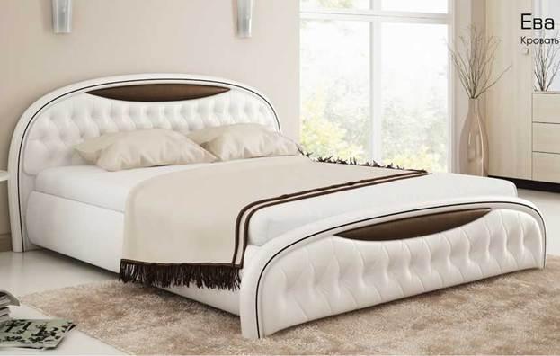 Кровати с мягими элементами