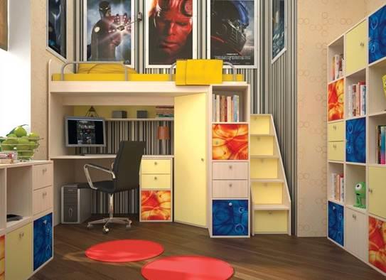 Детская корпусная мебель тетрис