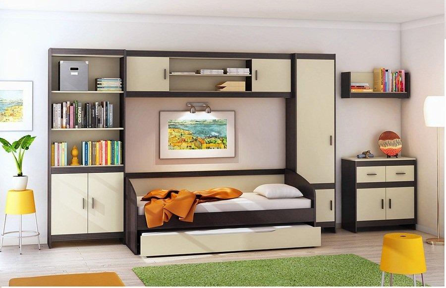 подростковая мебель дакота детская модульная мебель дакота