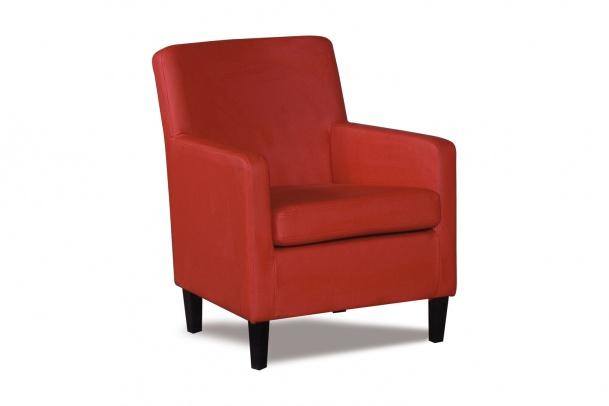 Гамбург 316.08 кресло 1х 126 красн
